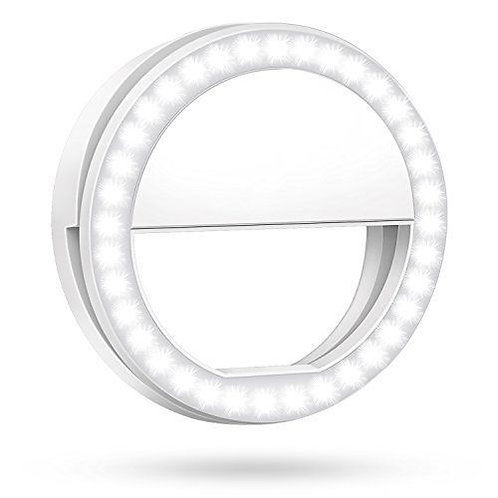 Selfie Ring Light - LED 3 Level Brightness