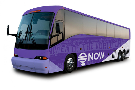 National Organization for Women Bus Concept