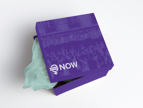National Organization for Women Packaging