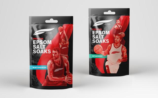 JetFuel + Epsom Salt Packaging