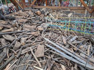 Emergency Firewood Storage