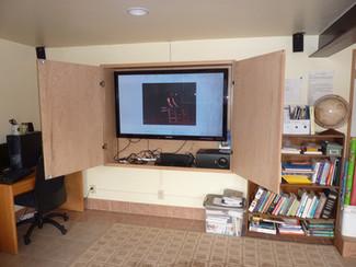 60 inch TV with Sorround Sound