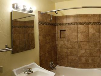 Bathroom Panorama Facing Tub
