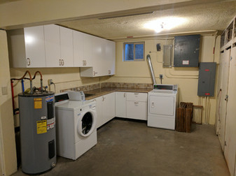 North End Laundry Area