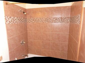 Tiled Tub Surround