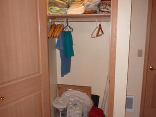 NW Bedrrom Closet, Open