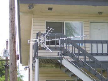 Broadcast TV Antenna with 42 Free Channe