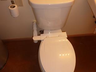 Half Bath, Vented Toilet