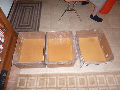 3 Double Batches of Soap Using Recycled