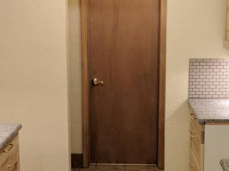 West End of Kitchen and Bath Door