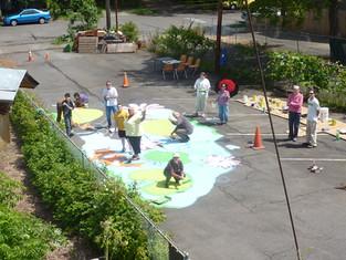 VBC Driveway Painting May 2013