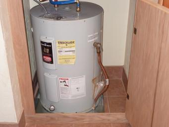 How Water Heater Closet