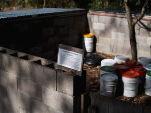 Humanure Compost Courtyard