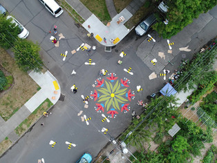 Full Intersection Painting from above