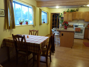 Dining Area with Windows, Kitchen