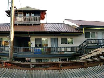 North Roof Revised Rainwater Drainage