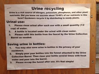 Urine Recycling