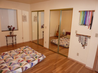 Middle Bedroom Double Closers
