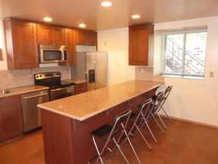 Kitchen and West Window