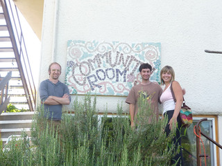 Community Room Signage