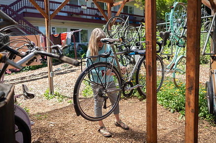 Bike Repair Area