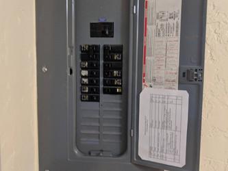 Electrical Panel Closeup