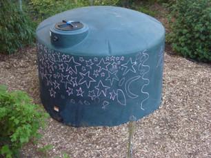 1500 Gallon Water Cistern