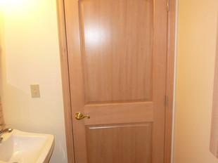Half Bath Door