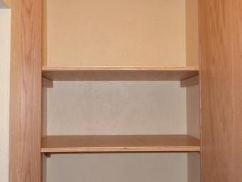 Hall Upper Shelves