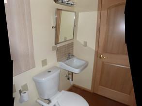 Half Bath Sink and Toilet