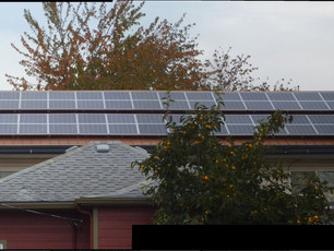 20 KW Photovoltaic Solar Array on the Easter Most Building