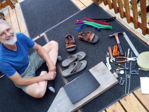 Examining the materials