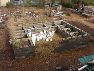 Kitchen Compost Courtyard