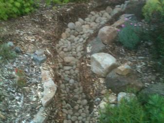 Sloping Rain Garden Curves