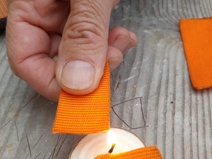 Singeing the Edges of the Synthetic Strap