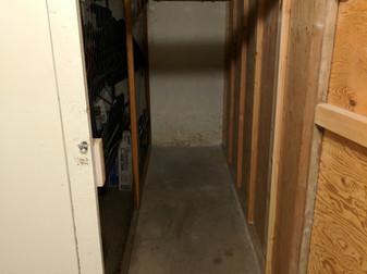 Empty 3x10' Storage Unit