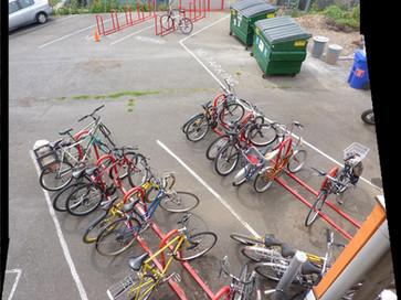 Bike Parking for 96 Bikes