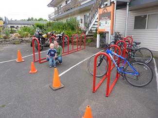 Outdoor Bike Racks