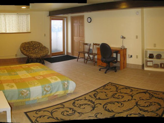 Guest Room from NW Corner