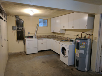 South End Laundry Area