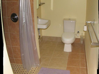 Guest Room Bath with Walk in Shower