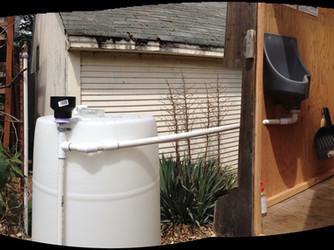 Urinal to Collection Barrel Plumbing