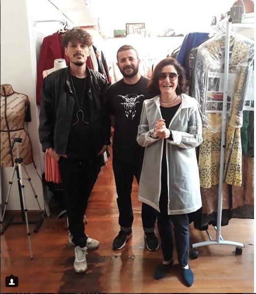 Gloria Kalil visita Acervo
