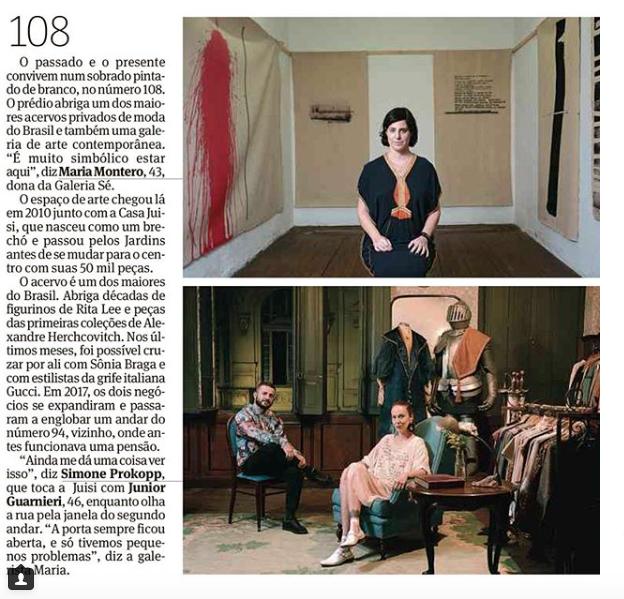 Matéria Jornal Folha de São Paulo/ Aniversário de SP/2018