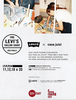 Costumização para Lévi's - Comemoração 501/2018
