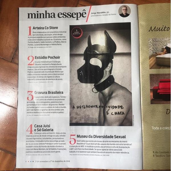 Matéria Revista da Folha de SP_2018