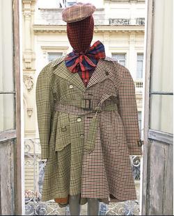look trench coat