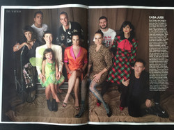 Matéria com a Casa Juisi na Revista Elle/edição aniversário maio/17
