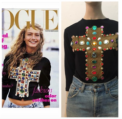 1a capa da Vogue América sobre o comando