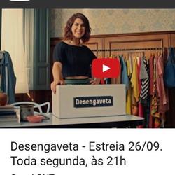 O Desengaveta com Fernanda Paes Leme invade o closet da celebridade e a faz desengavetar o que está